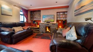 The lovely lounge in our Holiday Cottage Cornwall