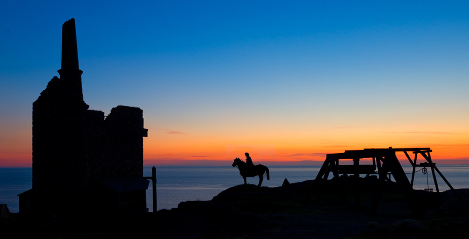 Filming Poldark in Cornwall