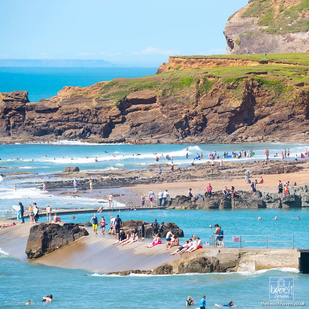 Bude swimming pool