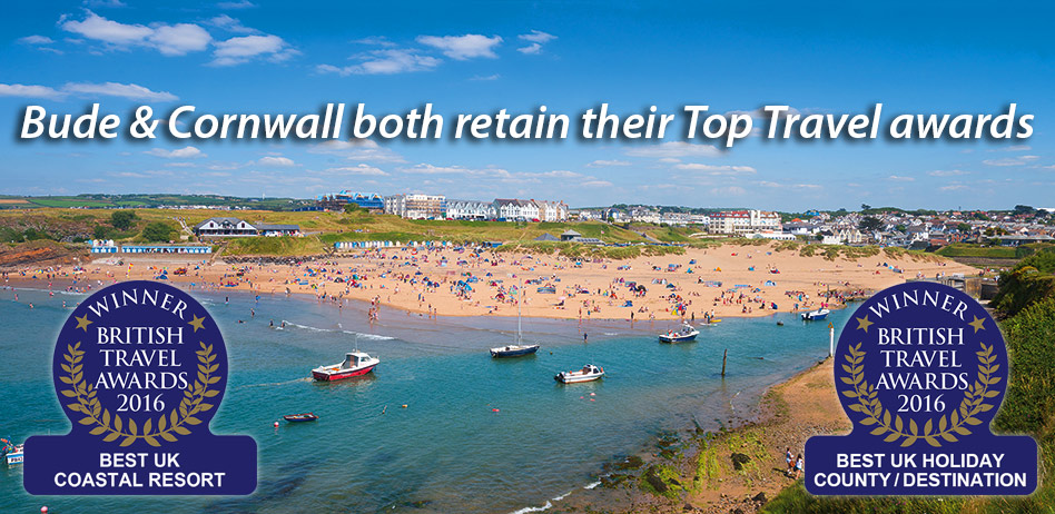 Bude is once again voted the UK's Top Coastal Resort!