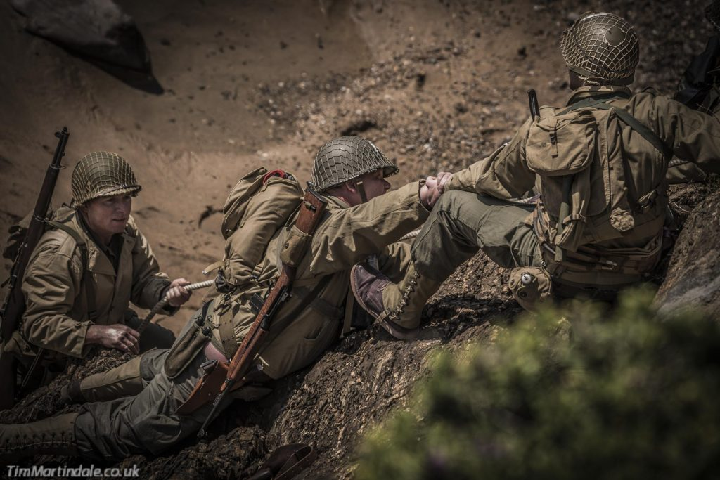 D-Day re-enactment at Bude