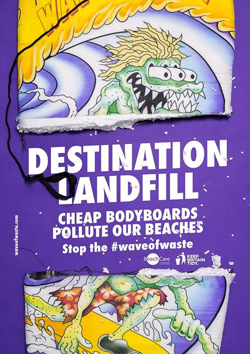 Destination Landfill #waveofwaste