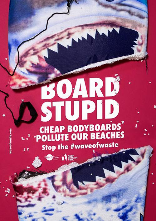 Board Stupid #waveofwaste