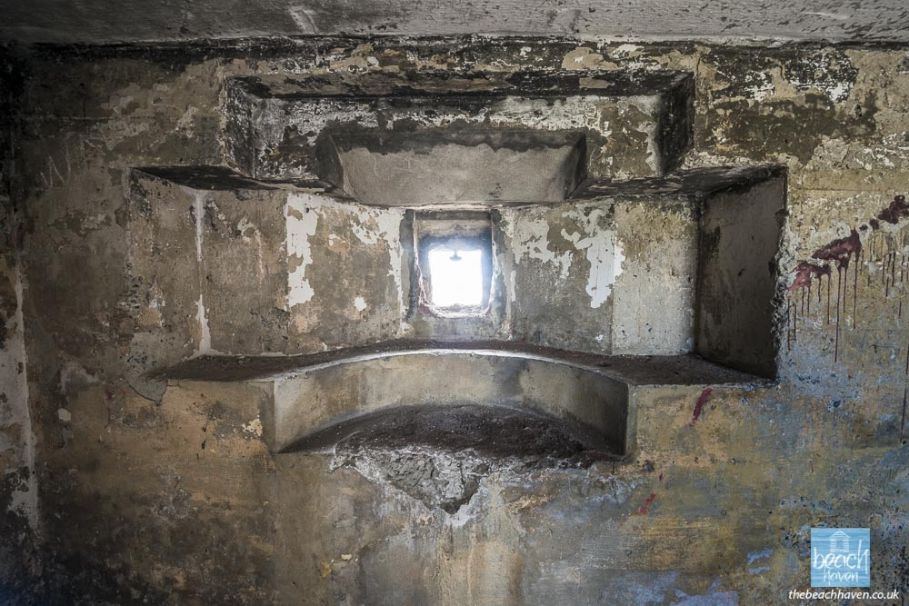 The left hand embrasure