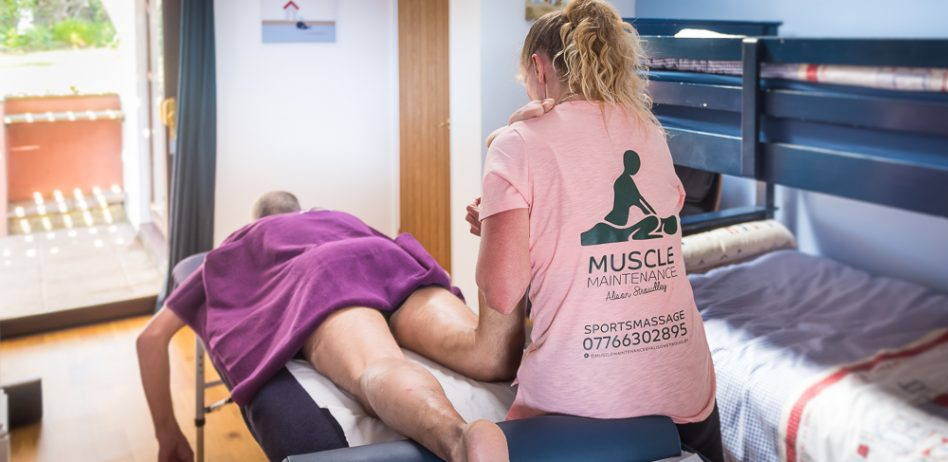 Sports massage. Muscle Maintenance by Alison Stroudley