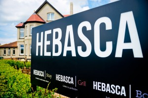 Hebasca bar and grill, just a five minutes stroll away.