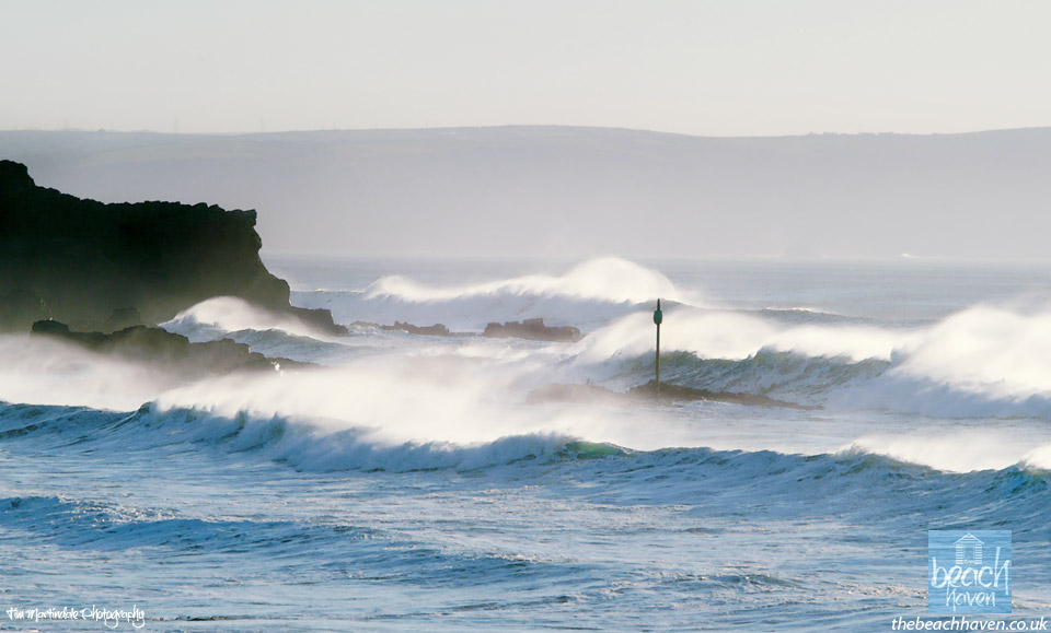 Big autumnal swells at Bude