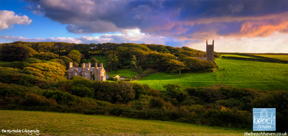 Morwenstow church and vicarage