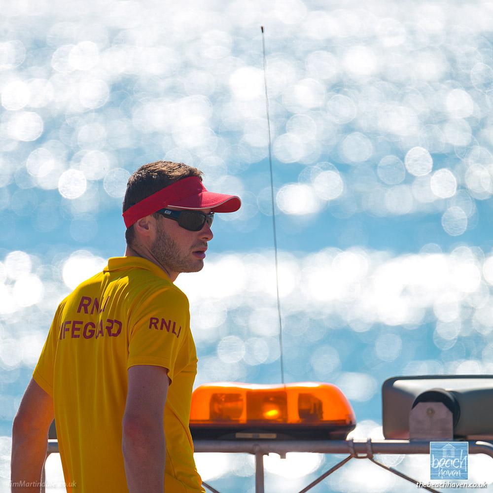 RNLI beach lifeguard