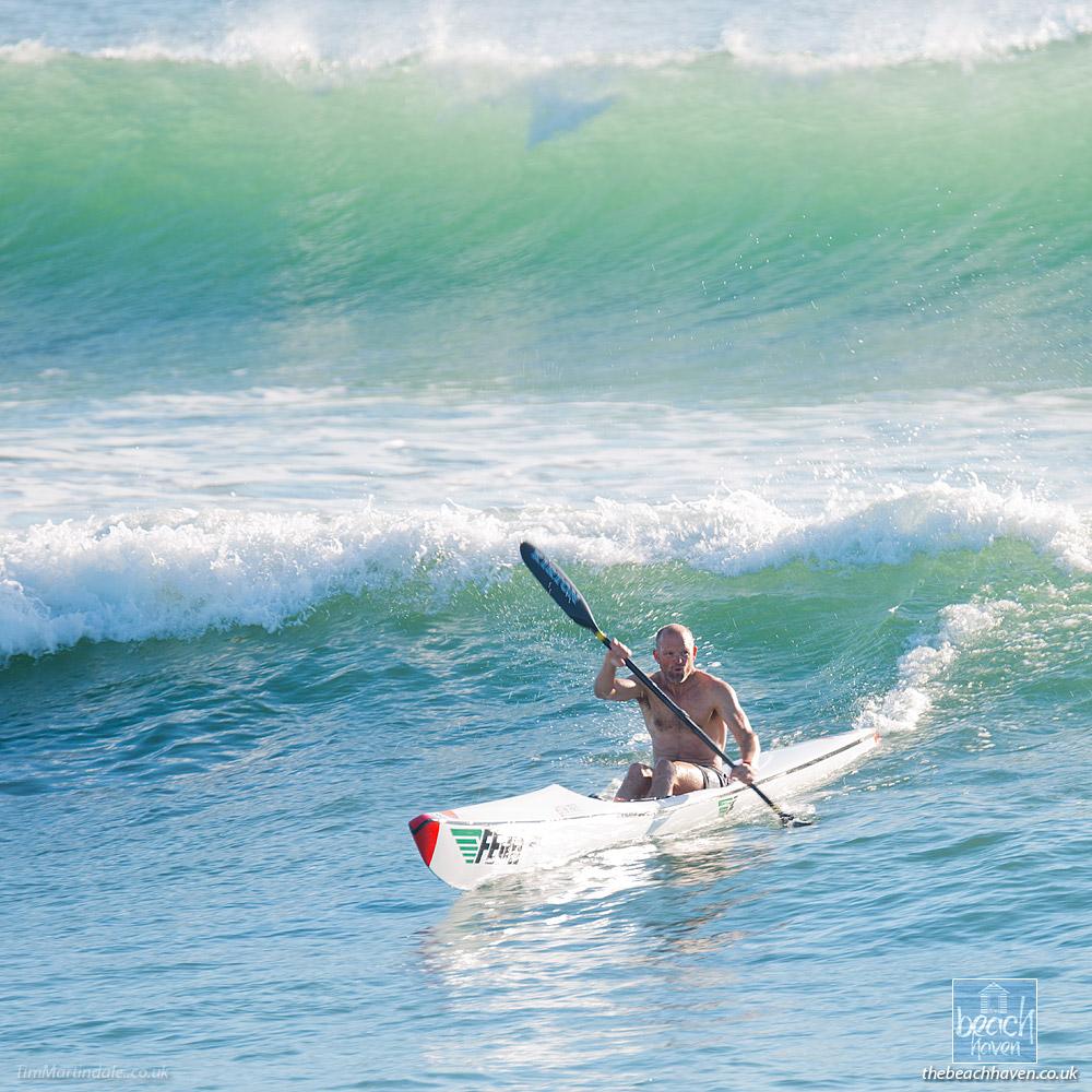 Surf Ski at Bude