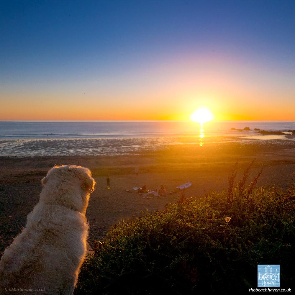 Widemouth Bay sunset