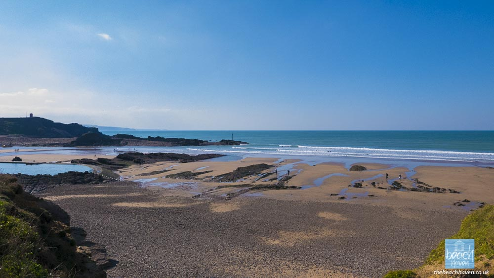 Bude''s beaches on a glorious October morning.