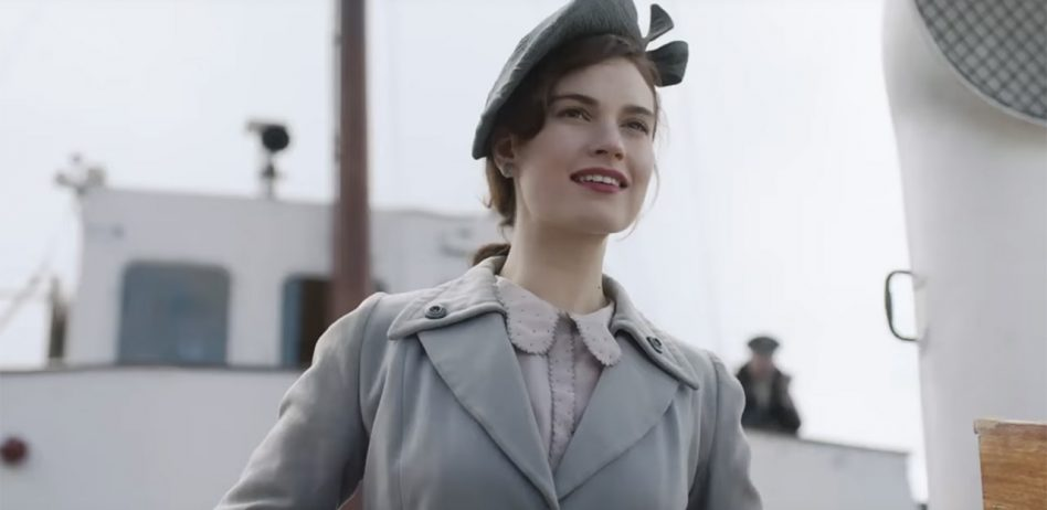 The Guernsey Literary and Potato Peel Pie Society - starring Lily James
