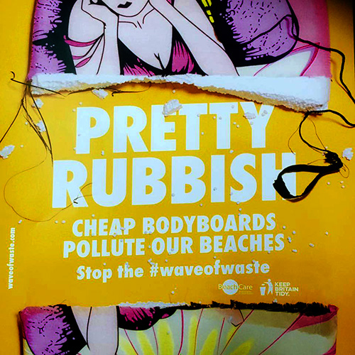 Pretty Rubbish #waveofwaste