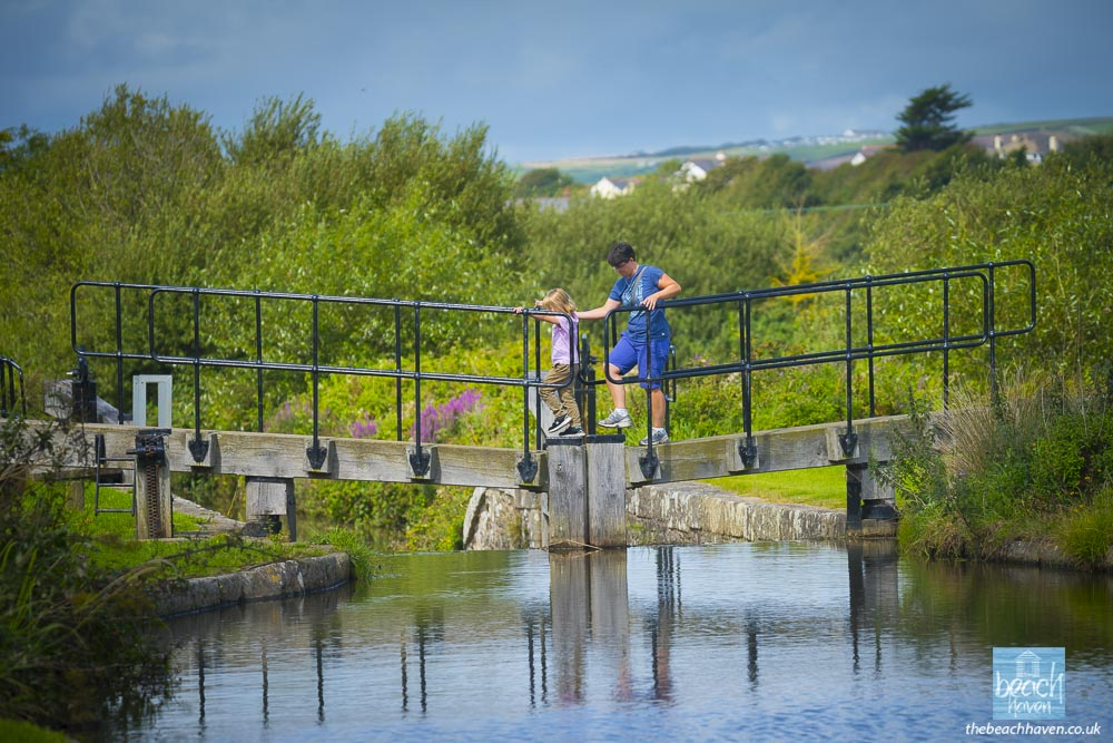 Rodd's Bridge Lock on Bude Canal