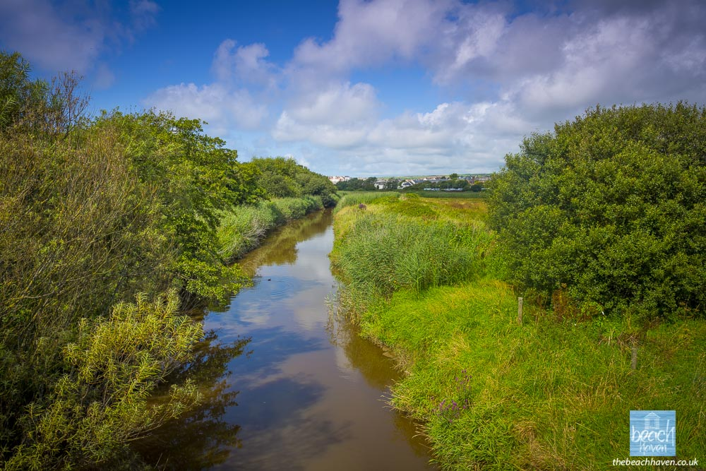 The river Neet from Peter Truscott bridge