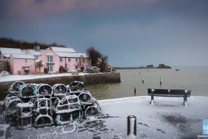 Bude in the snow