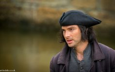 Ross Poldark (Aidan Turner) in Cornwall
