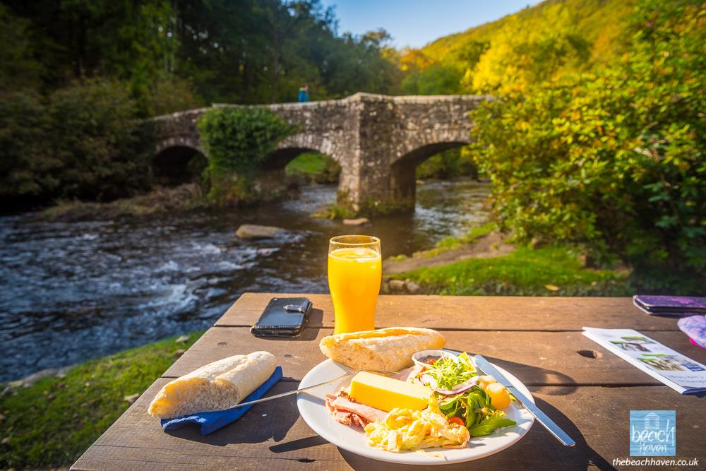 Fingal Bridge Inn lunch